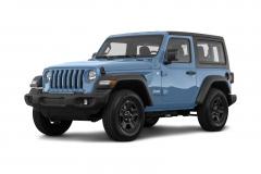 Jeep Wrangler Double Doors